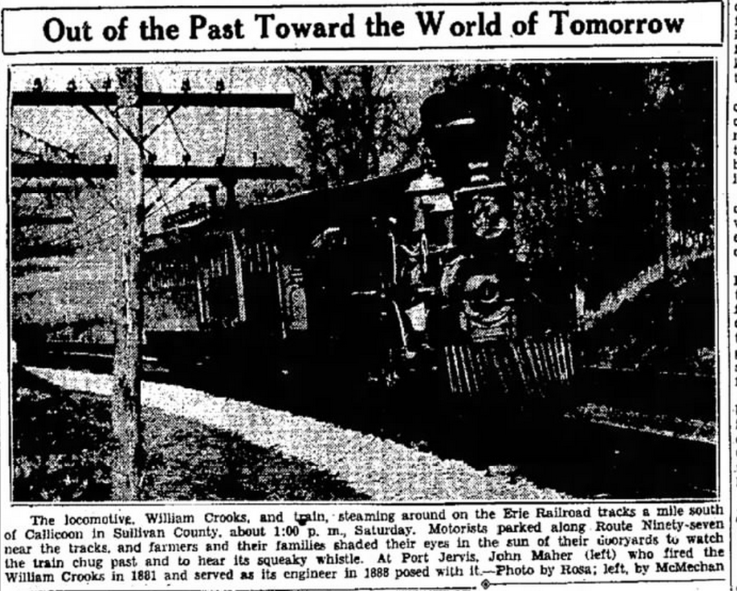 William Crooks Locomotive Article