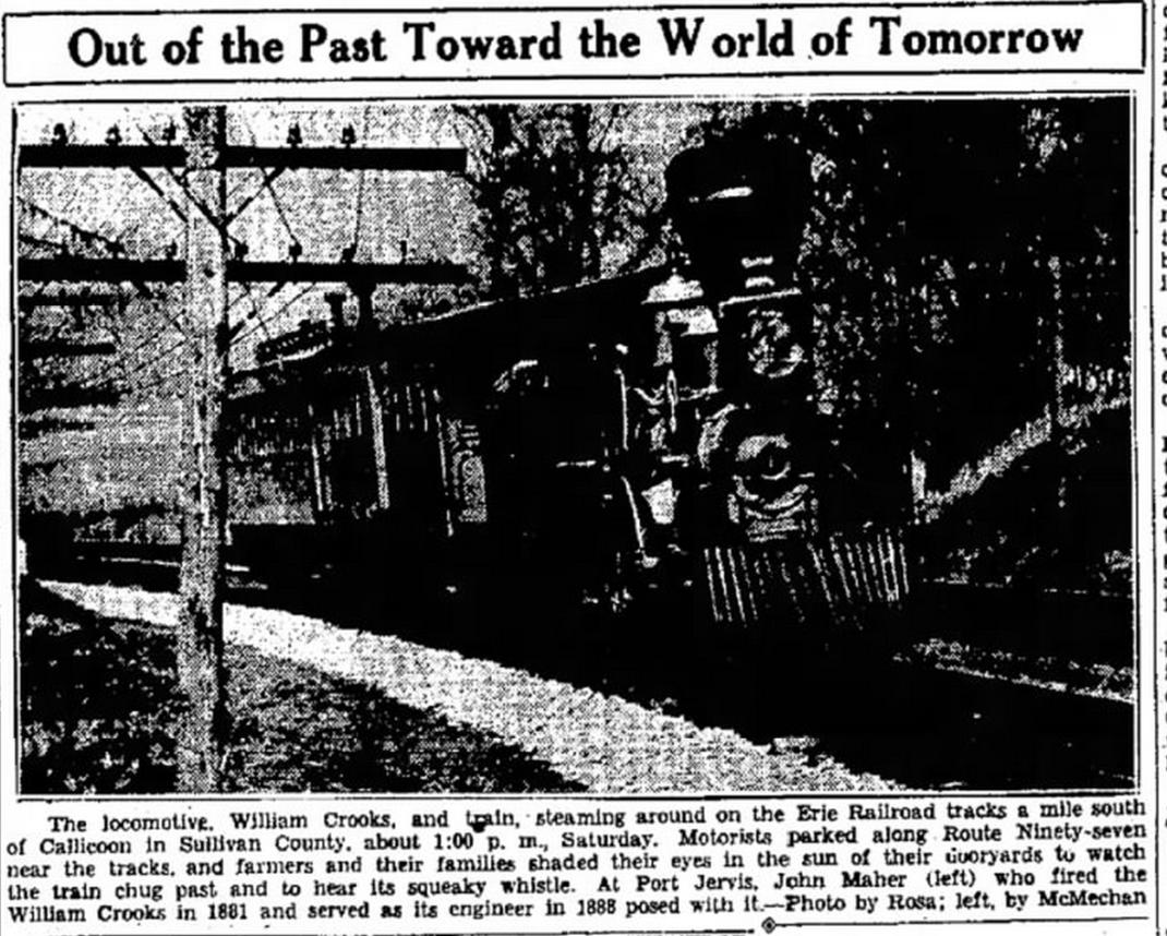 William Crooks Locomotive Article