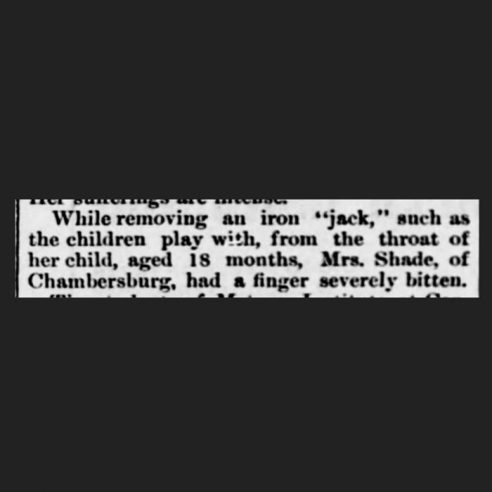 (Harrisburg Telegraph, 06.06.1888, via Newspapers.com)