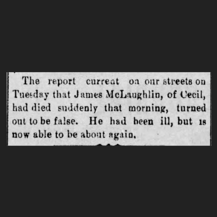 (Canonsburg Notes, 10.14.1892, via Newspapers.com)