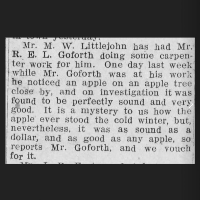 (Gaffney Ledger, 03.27.1908, via Newspapers.com)