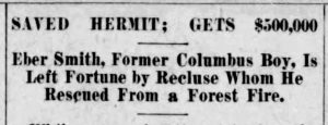 Wildfire Rescue. The Columbus Telegram, 04.28.1916