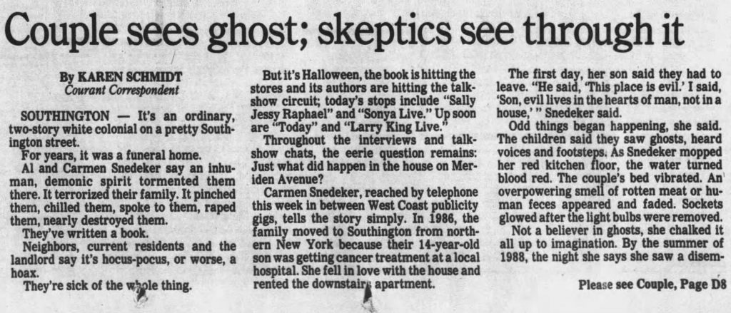 The Hartford Courant, Oct 30, 1992