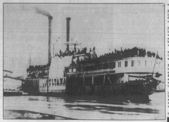Forgotten U S  History: The Sultana Disaster - Fishwrap The official
